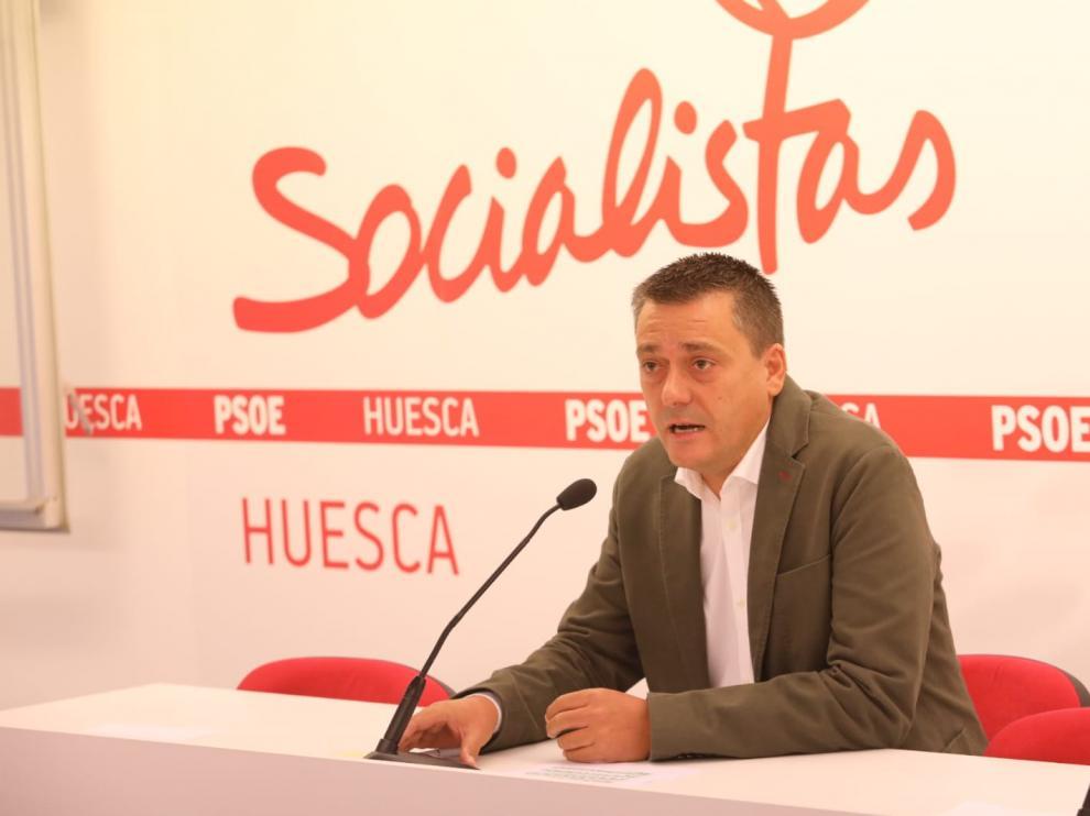 Fernando Sabés ha anunciado su candidatura a la Secretaría General del PSOE altoaragonés.