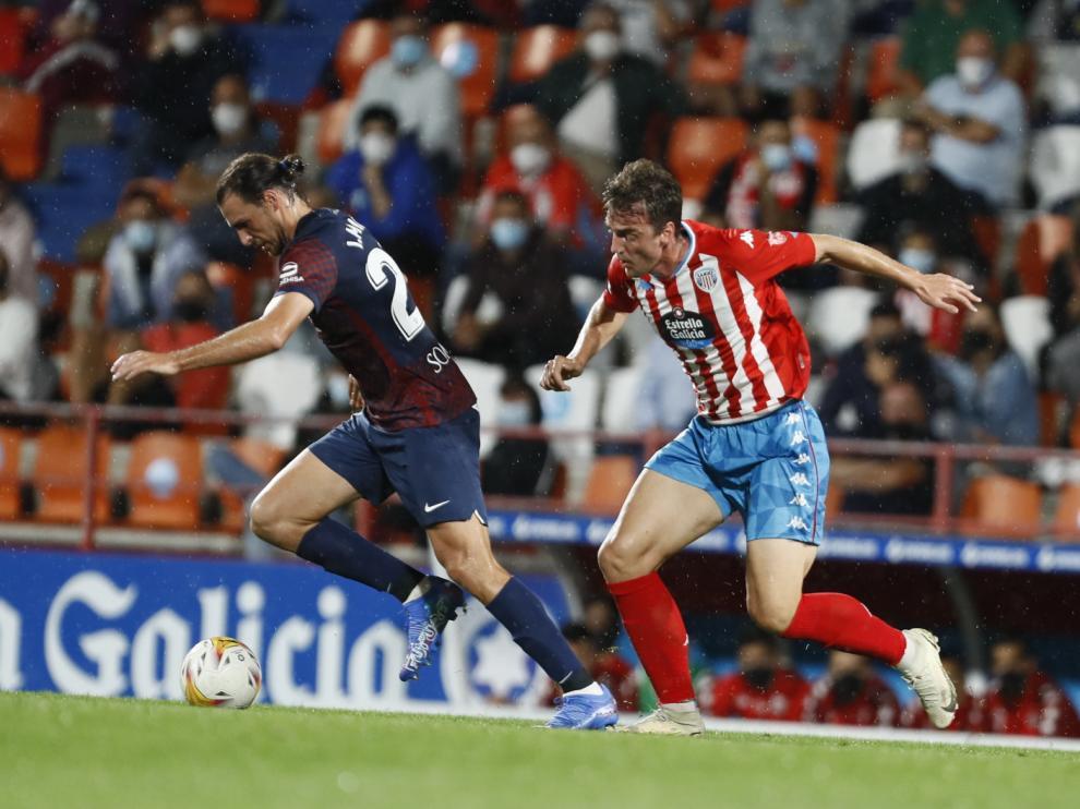 El Huesca le dio la vuelta al marcador en el minuto 40