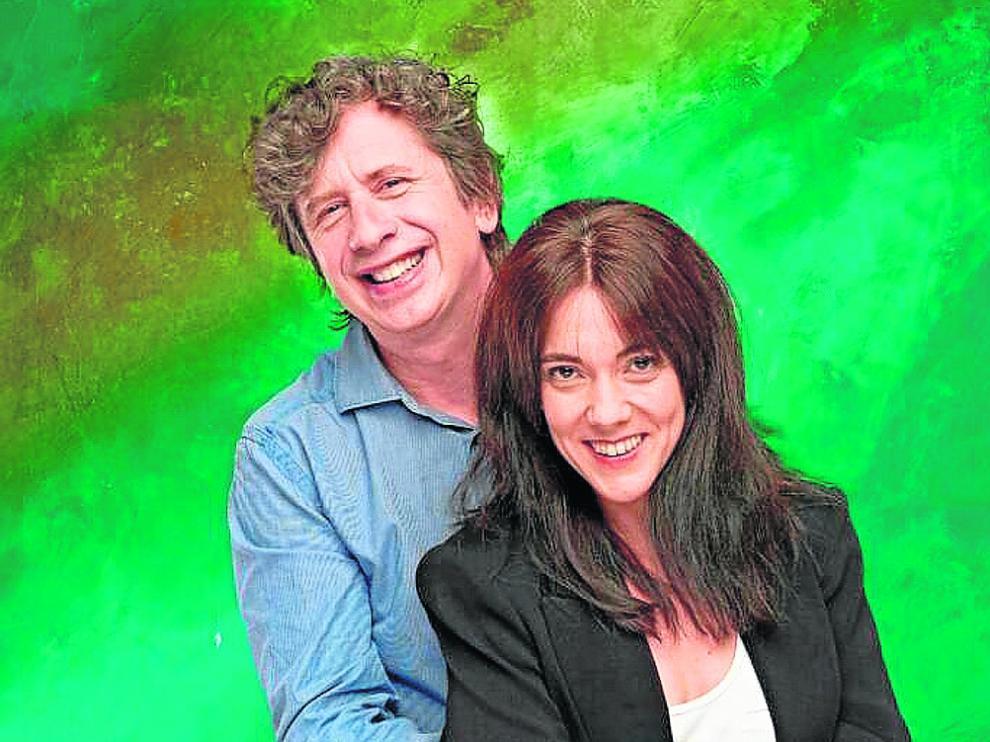 Gabino Diego y Carmen Barrantes
