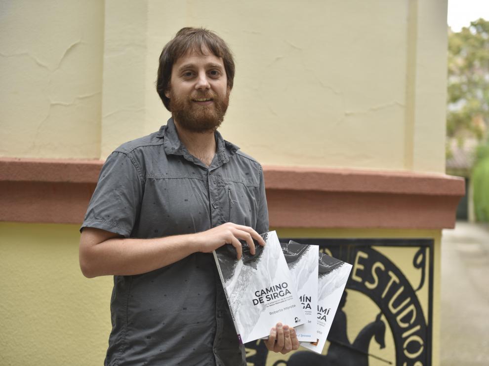 Roberto Morote en el IEA.