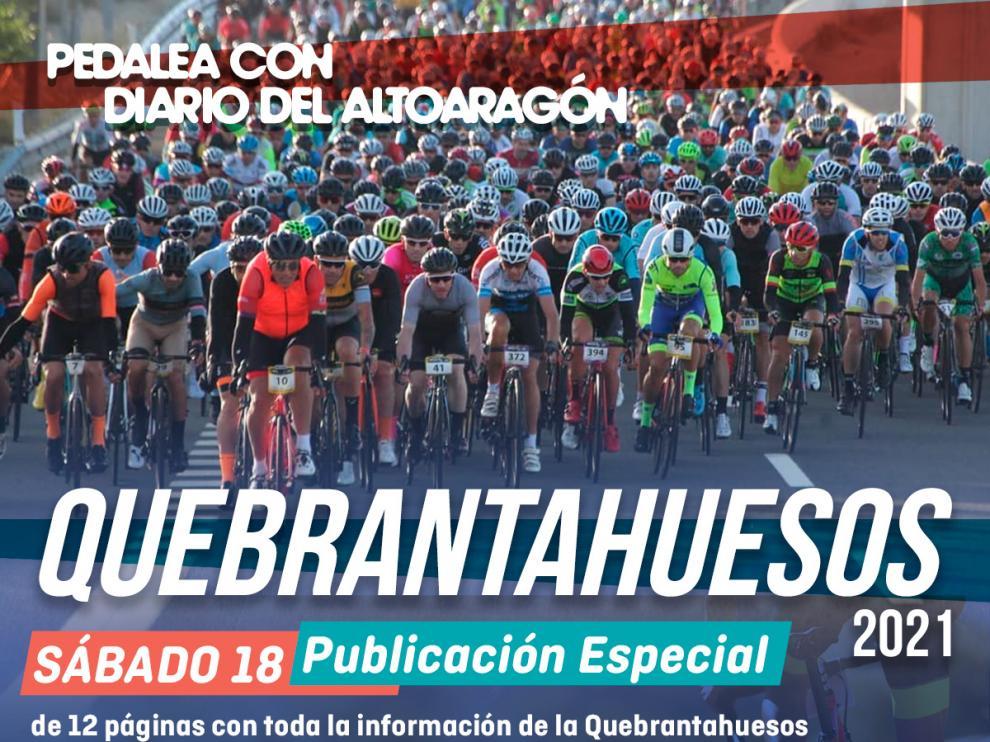 La marcha cicloturista, que se celebra este sábado.