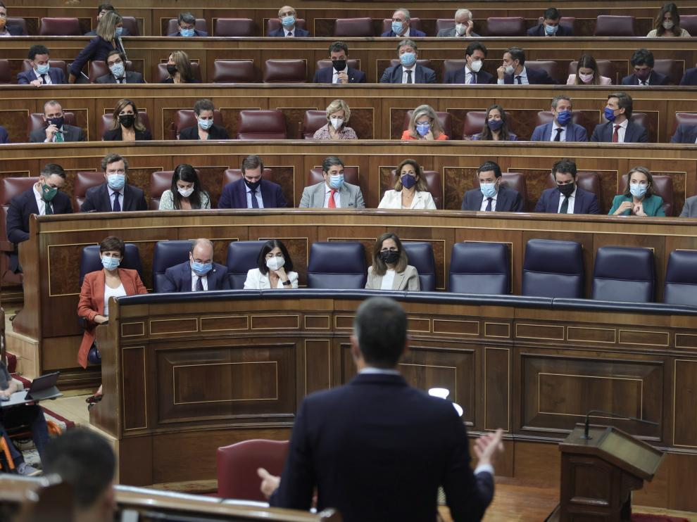 Última sesión de control al Gobierno