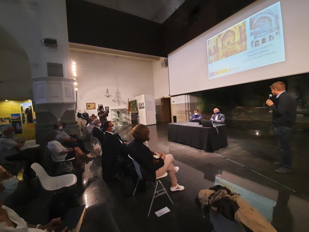El Espacio Pirineos de Graus acogió una conferencia de Gerardo Boto Varela.