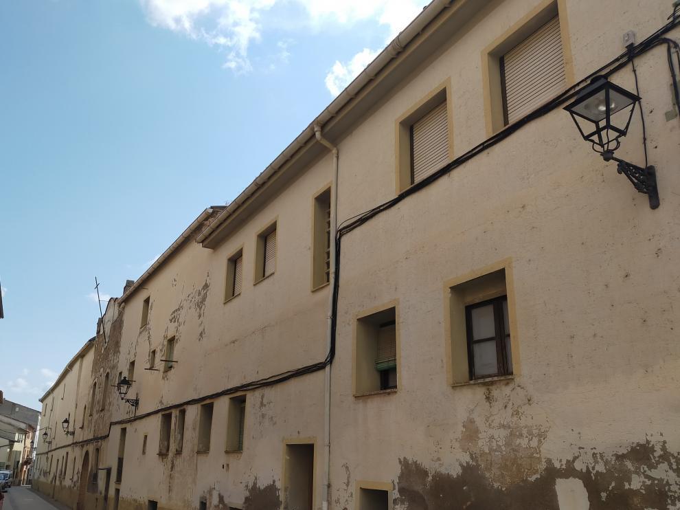 Convento de Benabarre que se va a rehabilitar.