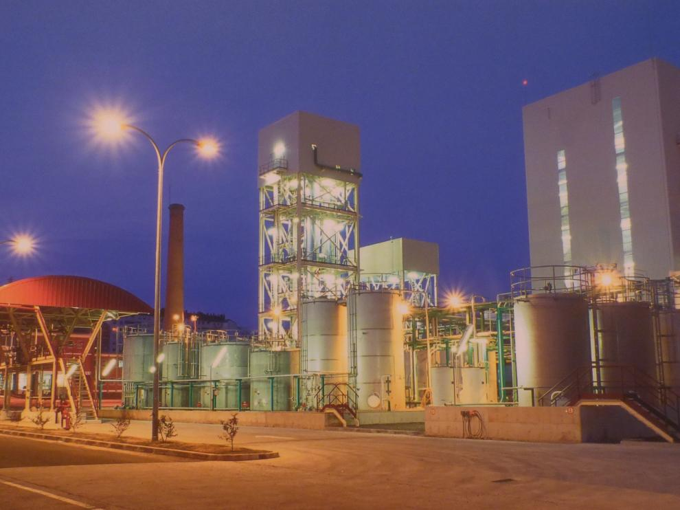 Fábrica Ercros de Sabiñánigo,