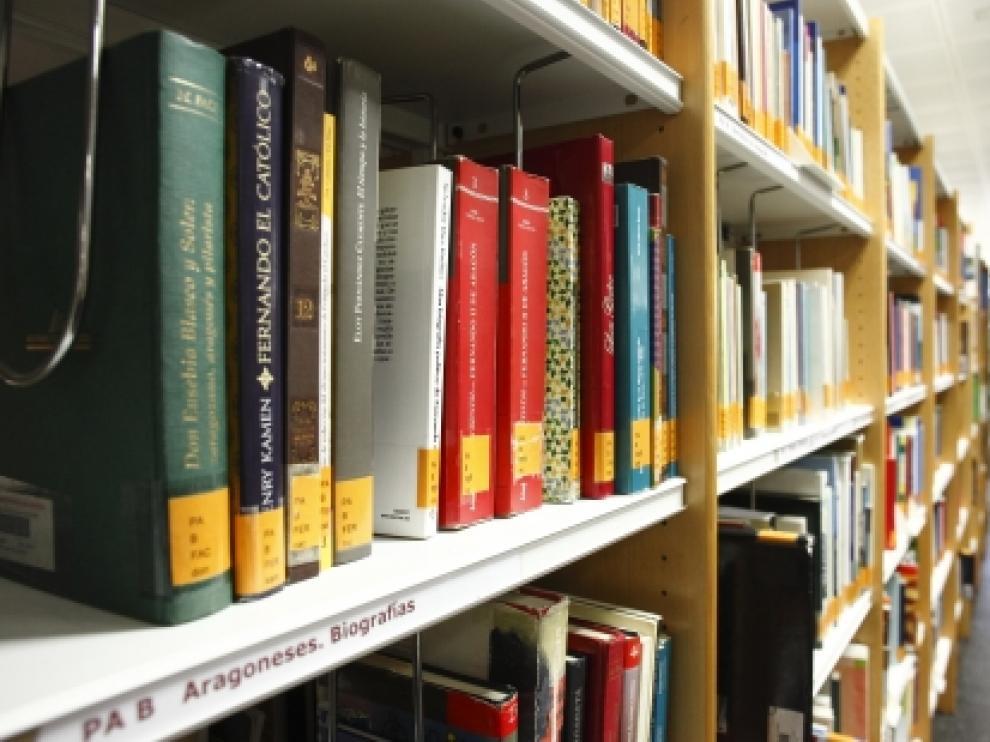 La actividad expositiva también volverá al espacio previsto para ello en la Biblioteca de Aragón