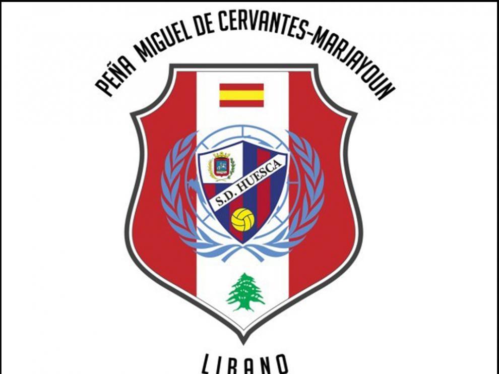 Logo de la Peña Oscense Miguel de Cervantes-Marjayun.