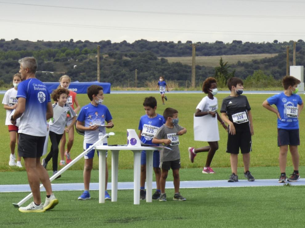 Participaron en la jornada organizada chicos y chicas de distintas edades.