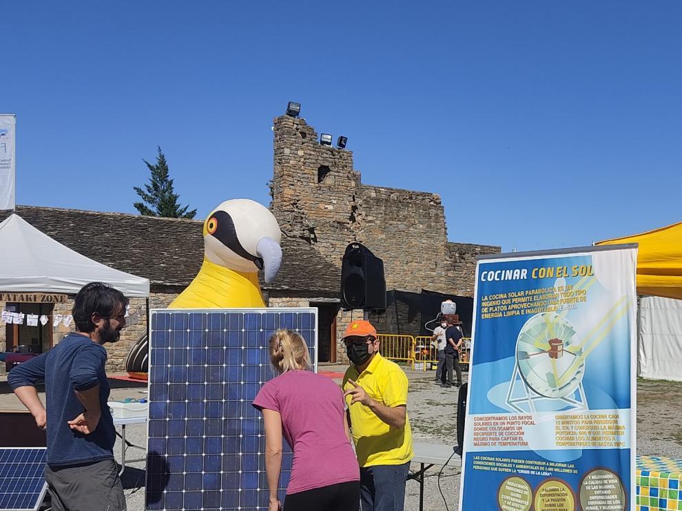 La plaza del castillo fue escenario de parte de las actividades.