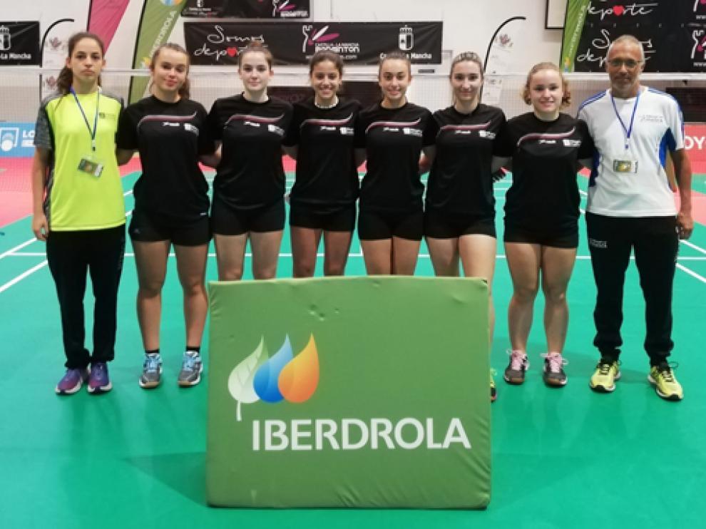 Equipo del Huesca La Magia que compitió en Toledo.