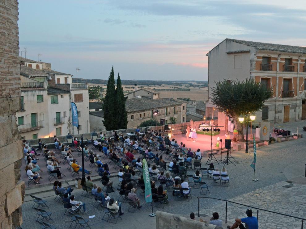 Imagen de una de las actuaciones del SonNa Huesca.