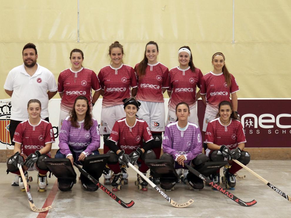 Selección Española de hockey femenino.