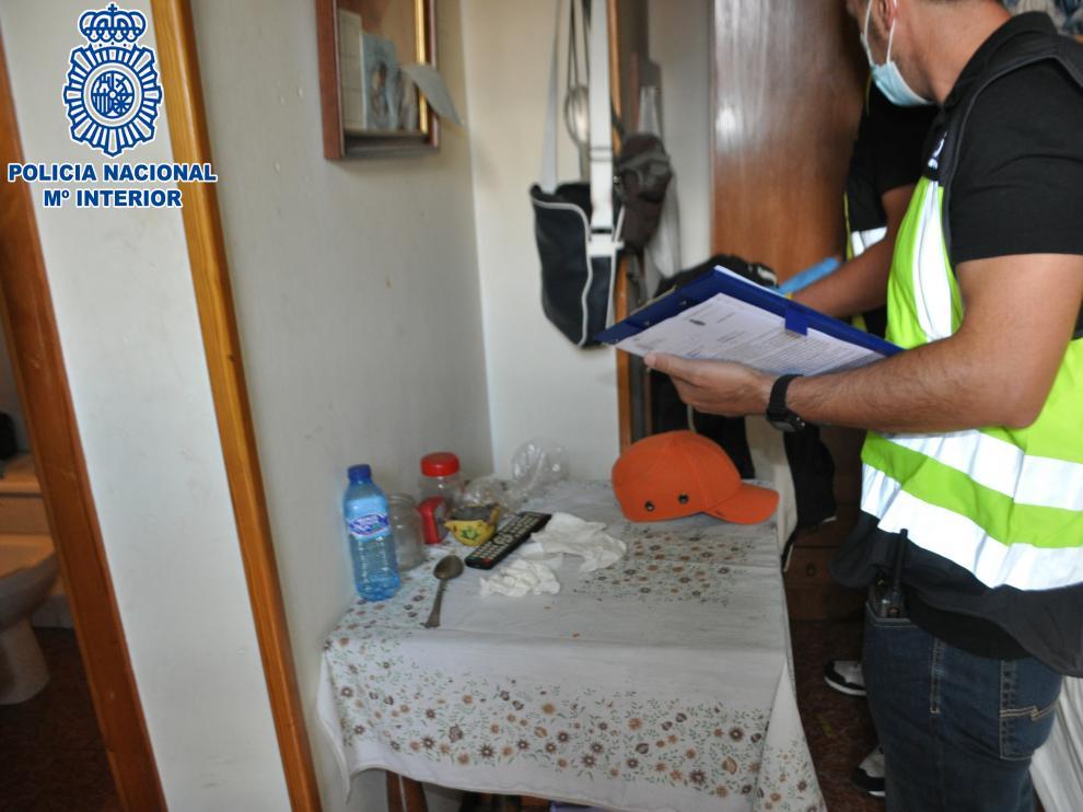 Imagen facilitada por la Policía Nacional