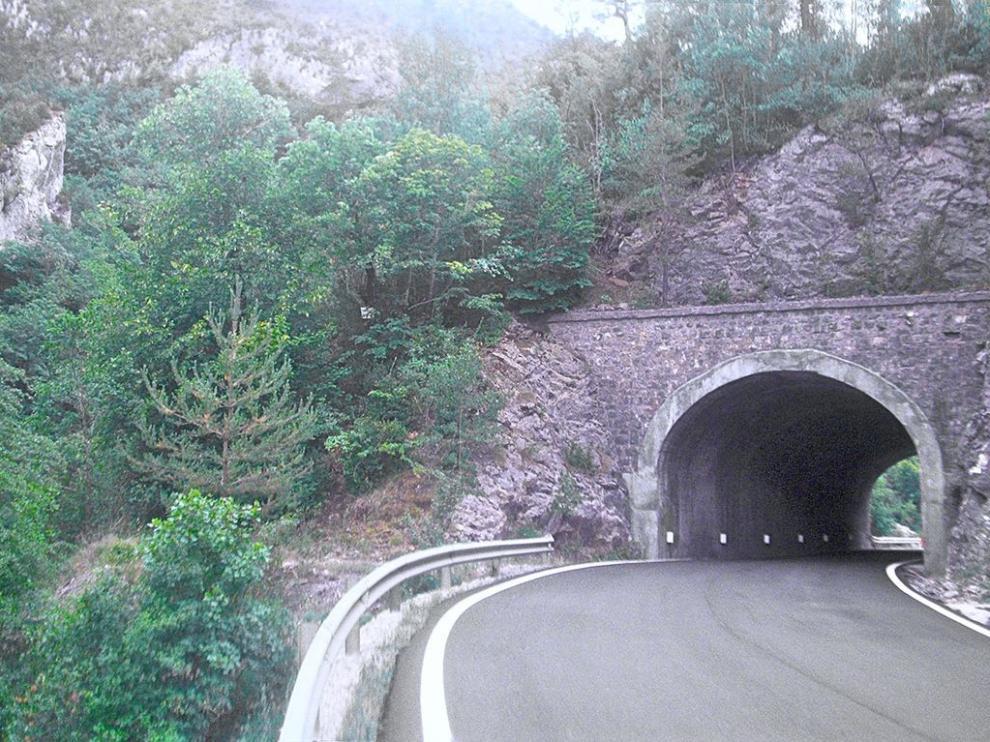 Uno de los siniestros ha tenido lugar en la zona de los túneles de Obarra.