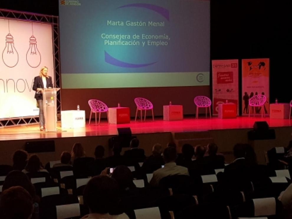 Anuncia la próxima puesta en marcha del Sello Aragón Circular para empresas y municipios y un plan de impulso de cooperativas en este ámbito