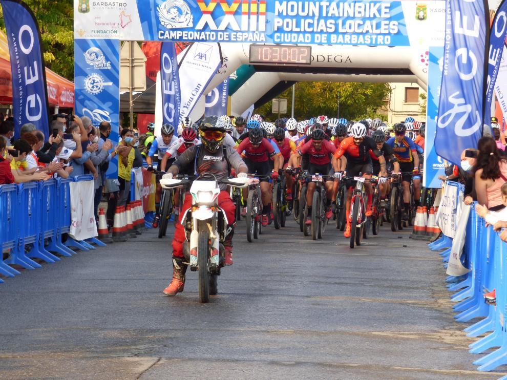 """Imagen durante el XXIII Campeonato de España de Mountainbike """"Ciudad de Barbastro"""""""