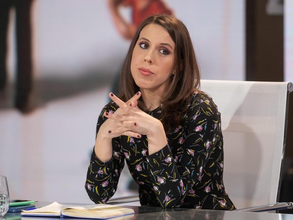 Paloma Esteban, una de las integrantes de la mesa redonda sobre Twitter y periodismo