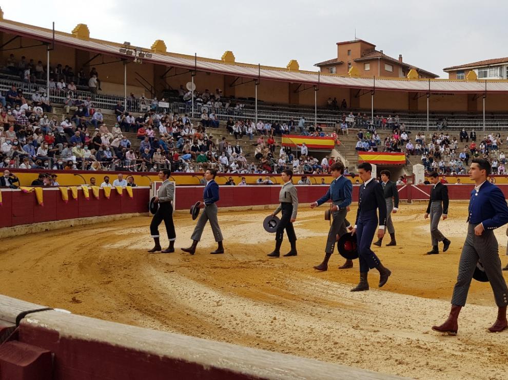 Participaron 6 alumnos de las escuelas de Huesca, Valencia y Zaragoza.