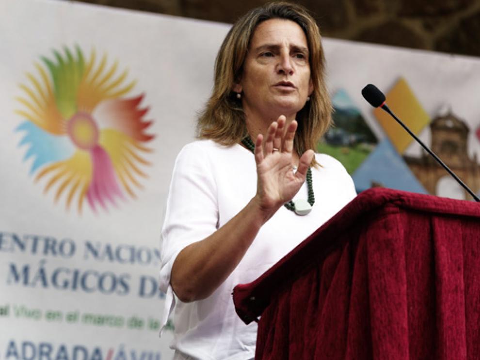 Teresa Ribera en la inauguración del Encuentro nacional de Pueblos Mágicos de España, celebrado en Valladolid este sábado