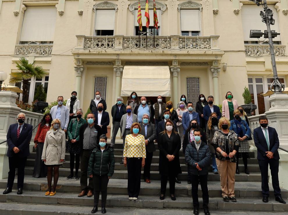 25 Aniversario Cadis Huesca. Coordinadora de la Asociación de Personas con Discapacidad.