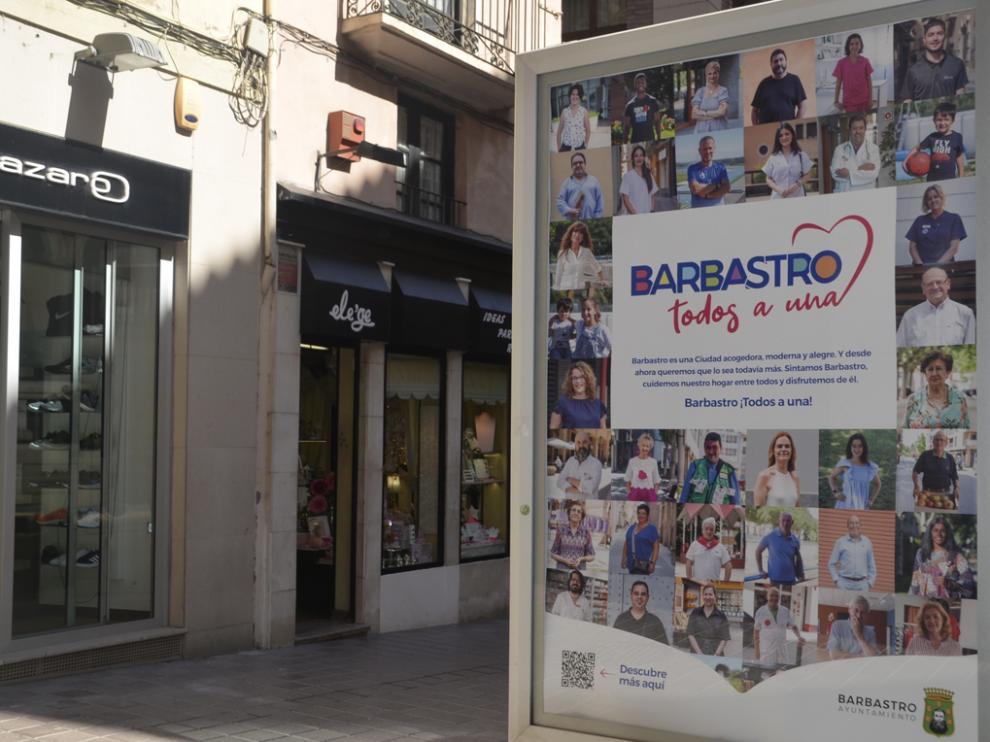 """Barbastro """"Todos a una"""". Ayuntamiento de Barbastro."""