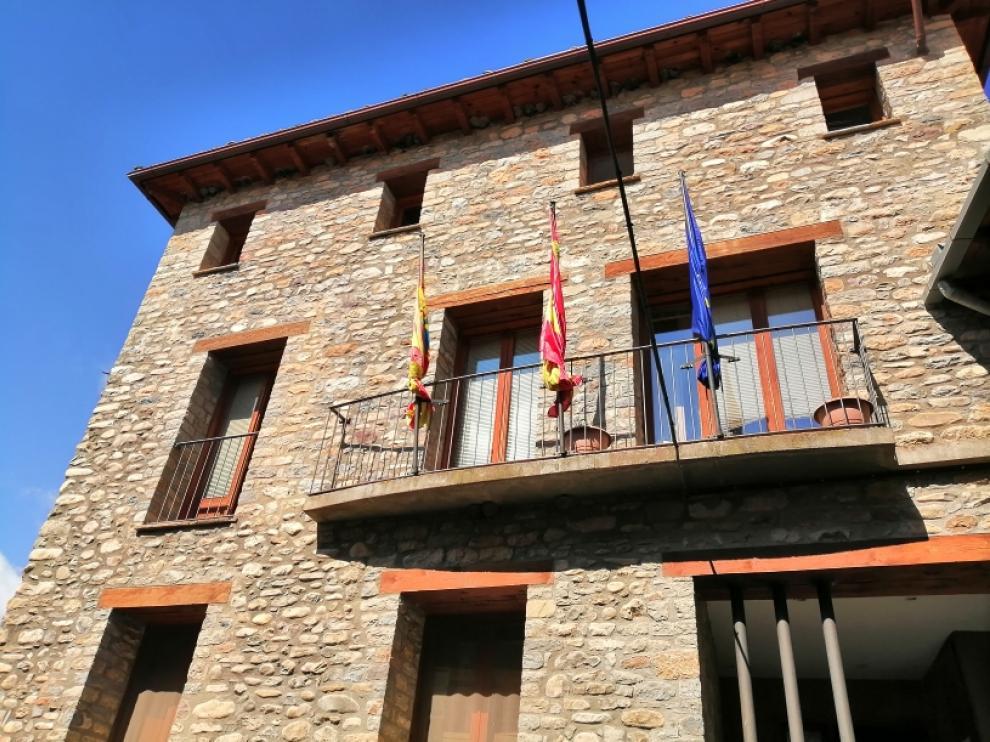 La Puebla de Roda. Casa consistorial de Isábena.