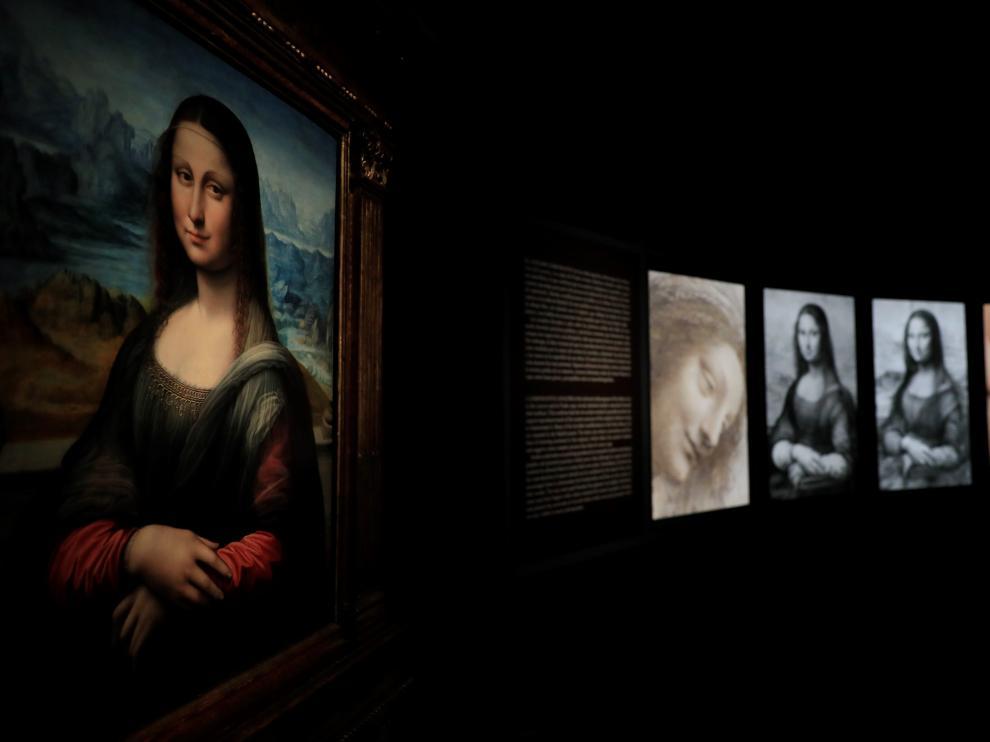 El Prado acoge la exposición Leonardo y la copia de la Mona Lisa.