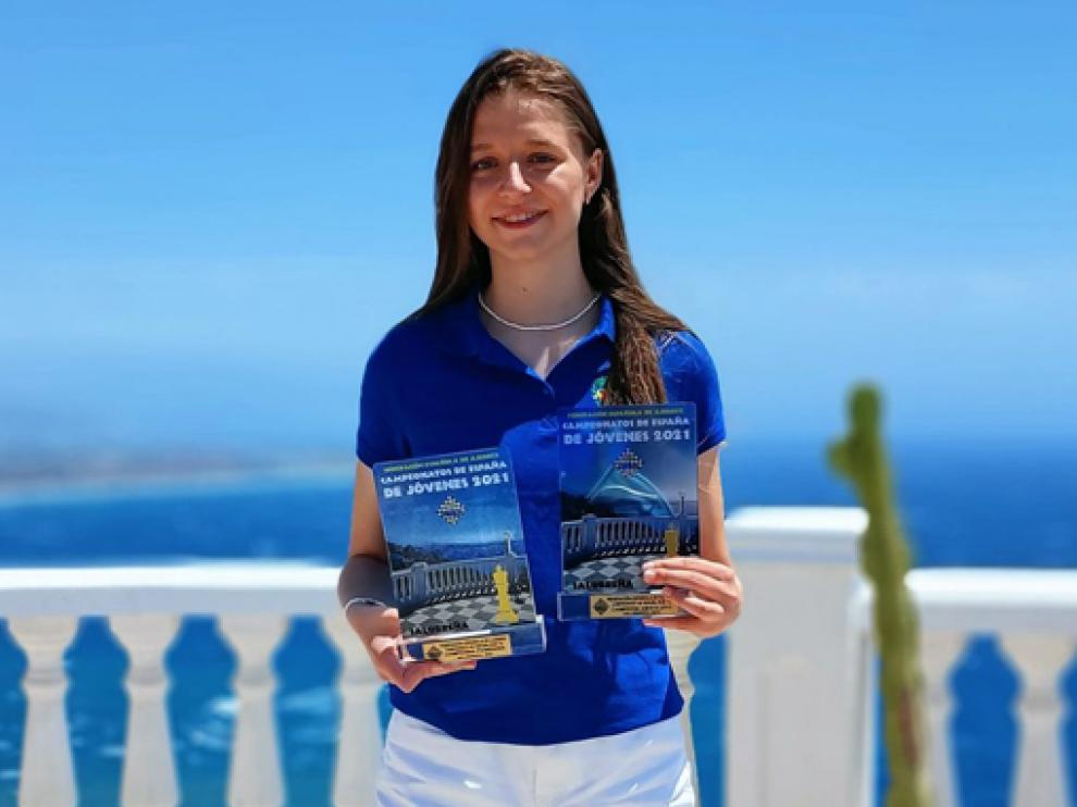 María Eizaguerri disputará en Riga un torneo con las mejores jugadoras del mundo.