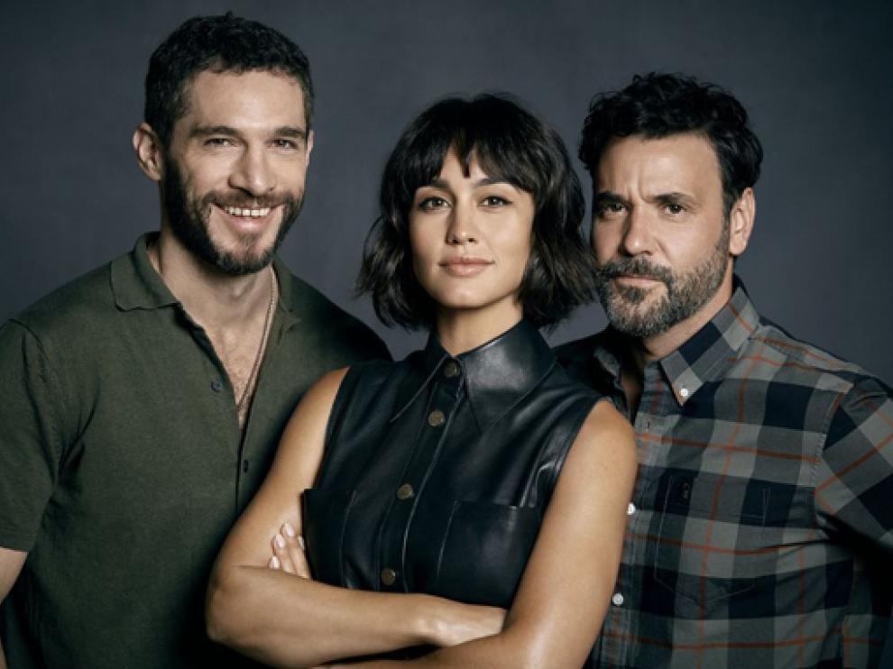 Michel Noher, Megan Montaner y Miquel Fernández, protagonistas de Si lo hubiera sabido.