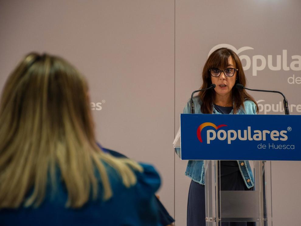 Gemma Allué ha criticado la inacción del gobierno local en seguridad ciudadana.