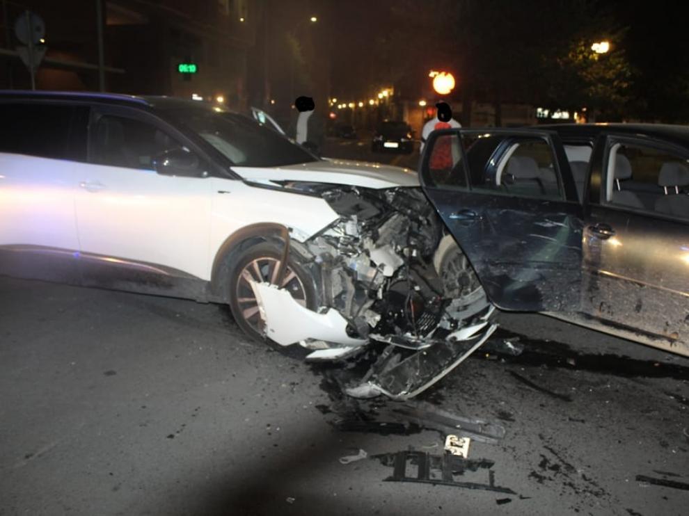 Imagen tomada en el lugar del accidente.