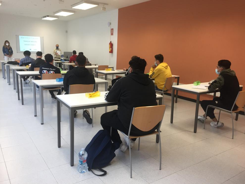 Al curso han accedido doce alumnos de entre 16 y 35 años en situación de desempleo.