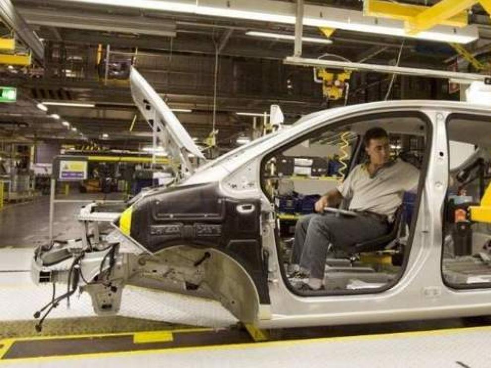 Planta de General Motors en Figueruelas.