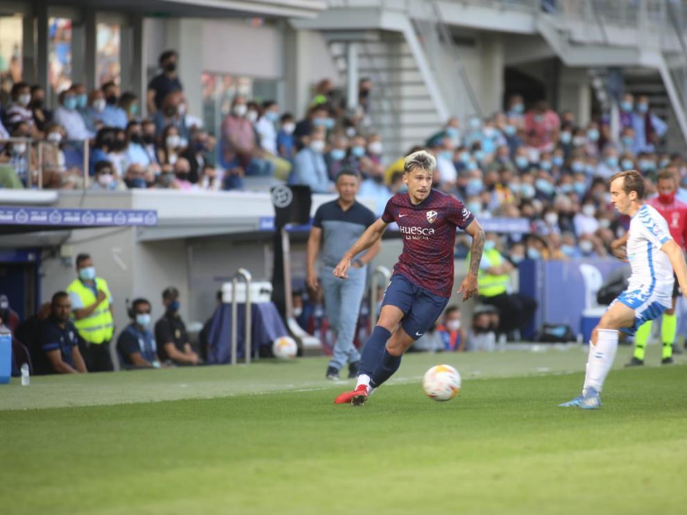 El Huesca ha caído ante el Tenerife en El Alcoraz.