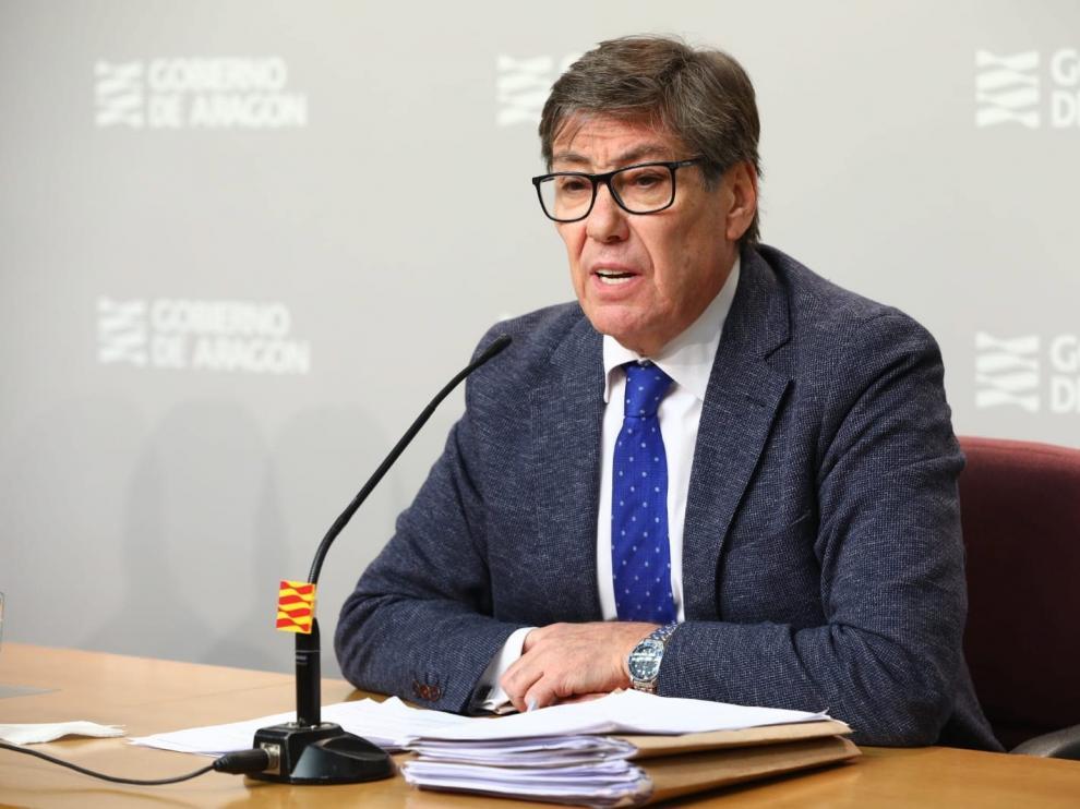 Arturo Aliaga, vicepresidente del Gobierno de Aragón.