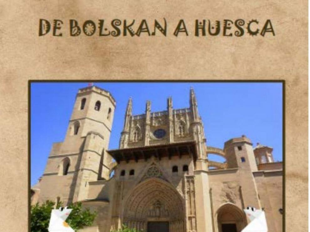 Portada del cuaderno didáctico 'De Bolskan a Huesca'.