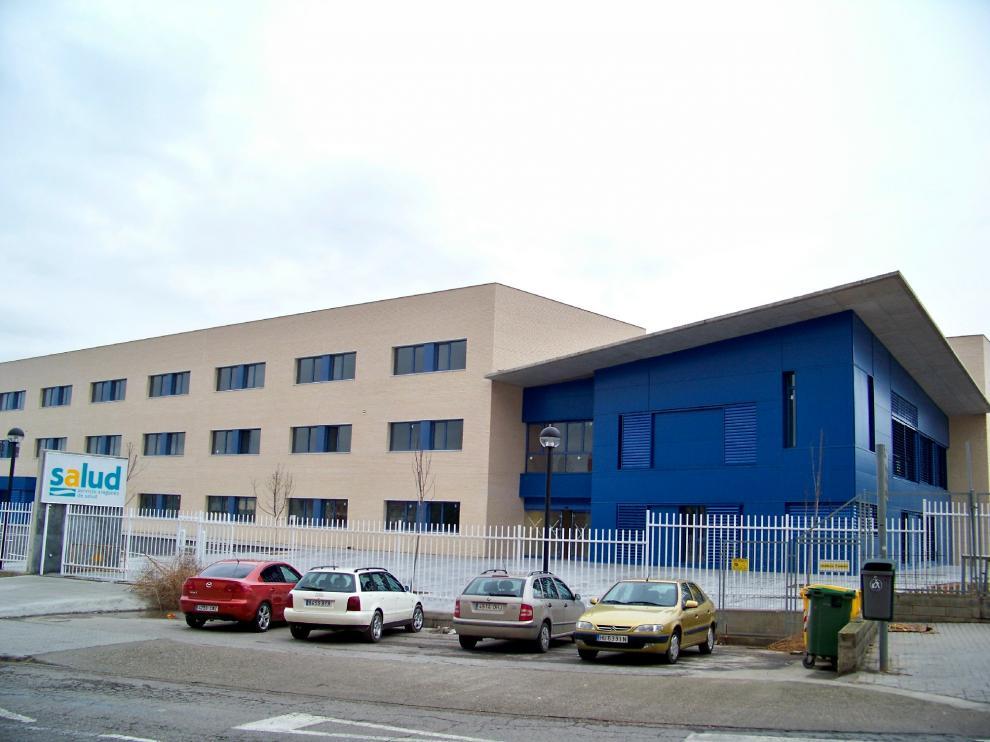 Foto de archivo del Centro de Salud de Fraga.