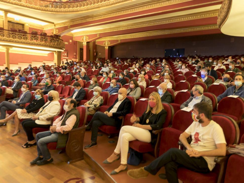 Público en la gala de Arcadia de este miércoles.