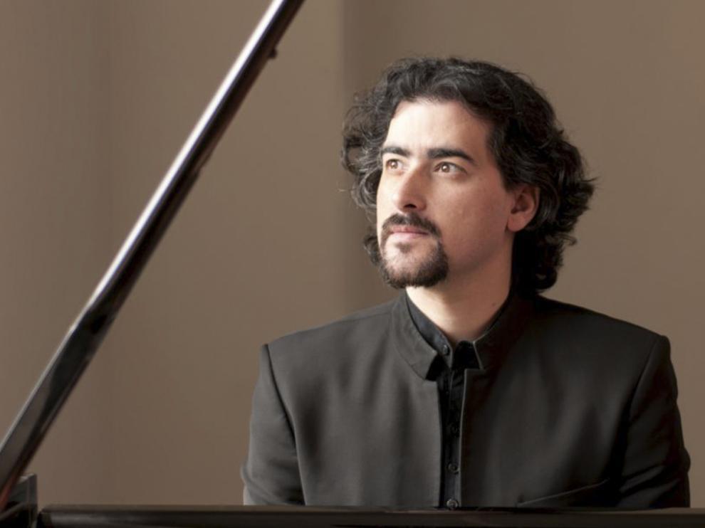 El pianista Juan Fernando Moreno Gistain.