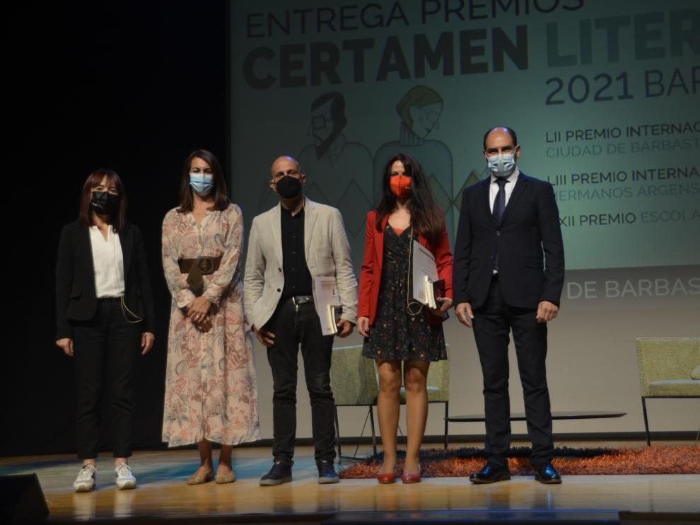 Ganadores del Certamen Literario de Barbastro 2021
