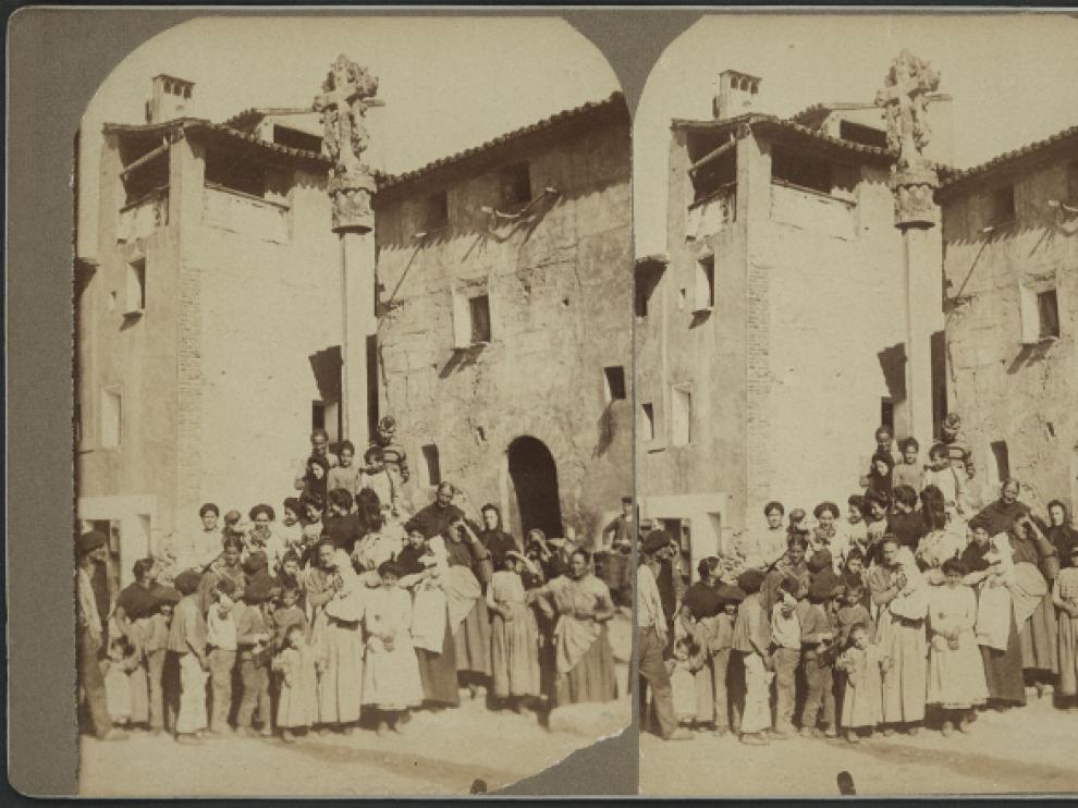 Habitantes de San Esteban de Litera