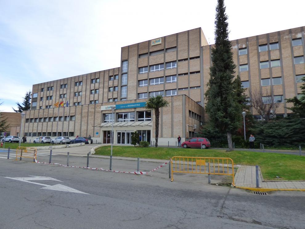 Exterior del Hospital de Barbastro.