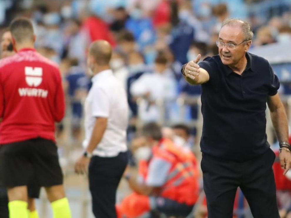 JIM, entrenador del Zaragoza.