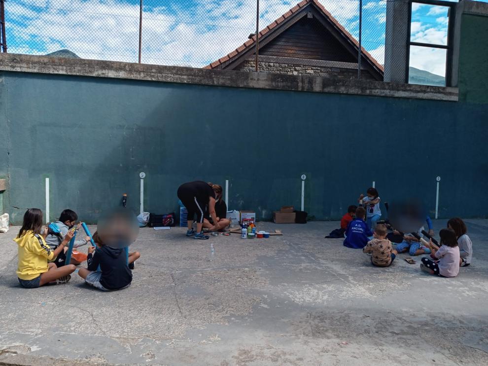 Una de las actividades organizadas desde el Centro de Servicios Sociales de la Comarca.