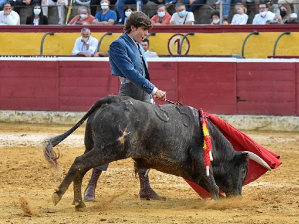 Imagen de Jorge Mallén, torero oscense de 18 años.