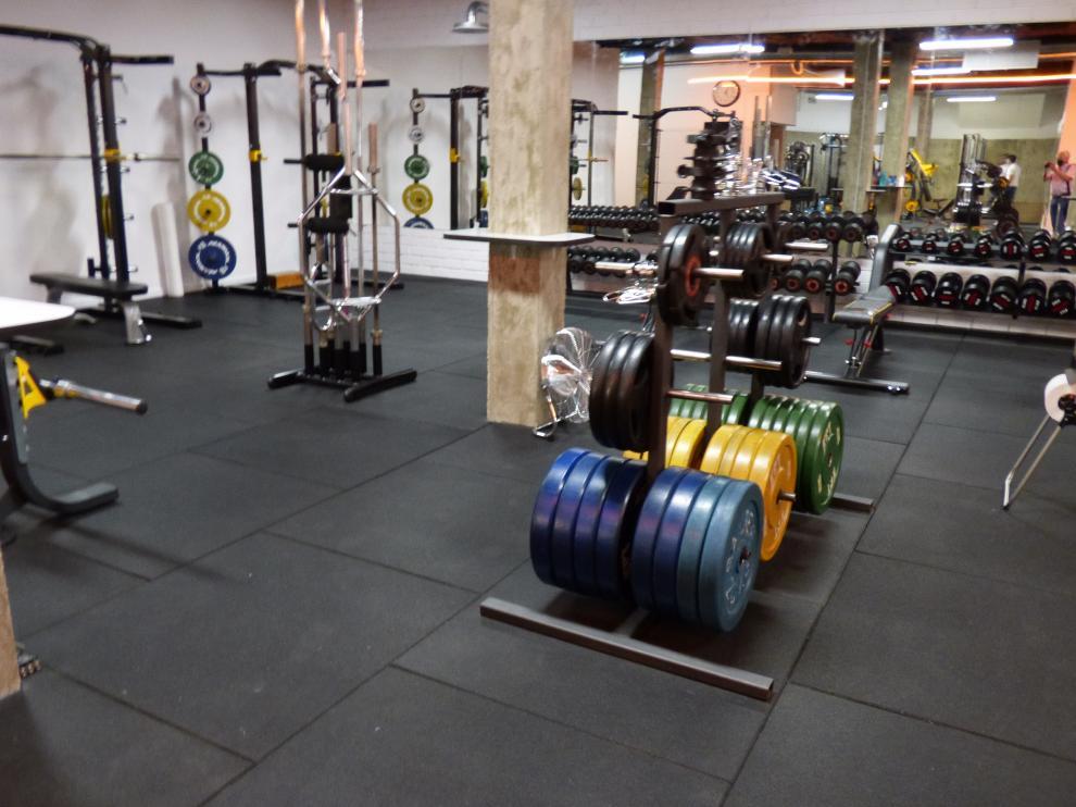 Nuevas instalaciones del Club Fitness Barbastro.
