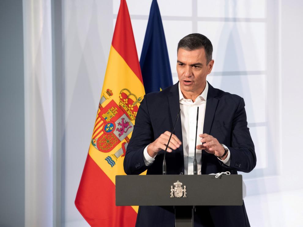 Pedro Sánchez participó en el acto institucional Salud Mental este sábado