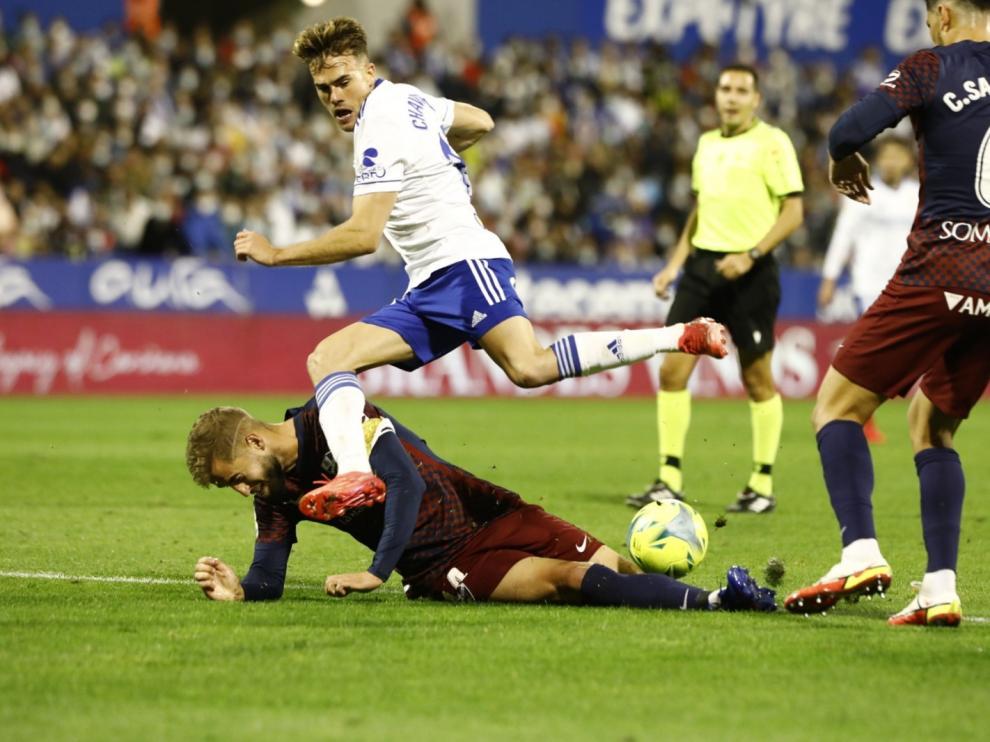 El Zaragoza y el Huesca han empatado en La Romareda.