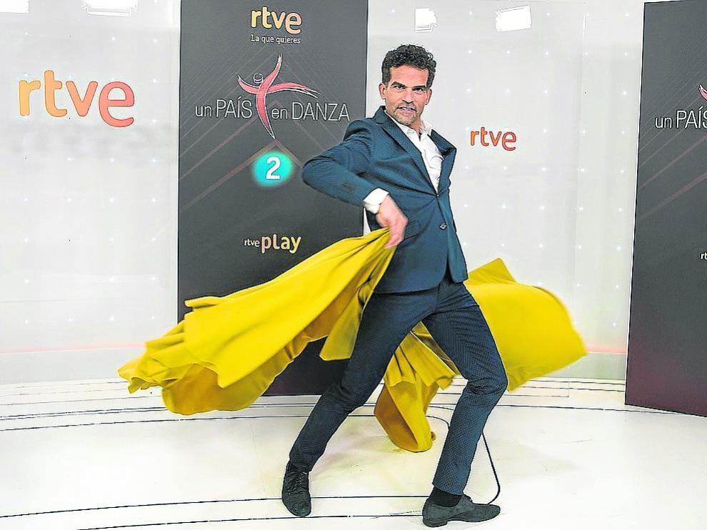 El bailarín y coreógrafo Antonio Najarro, en la presentación del nuevo programa de La 2.