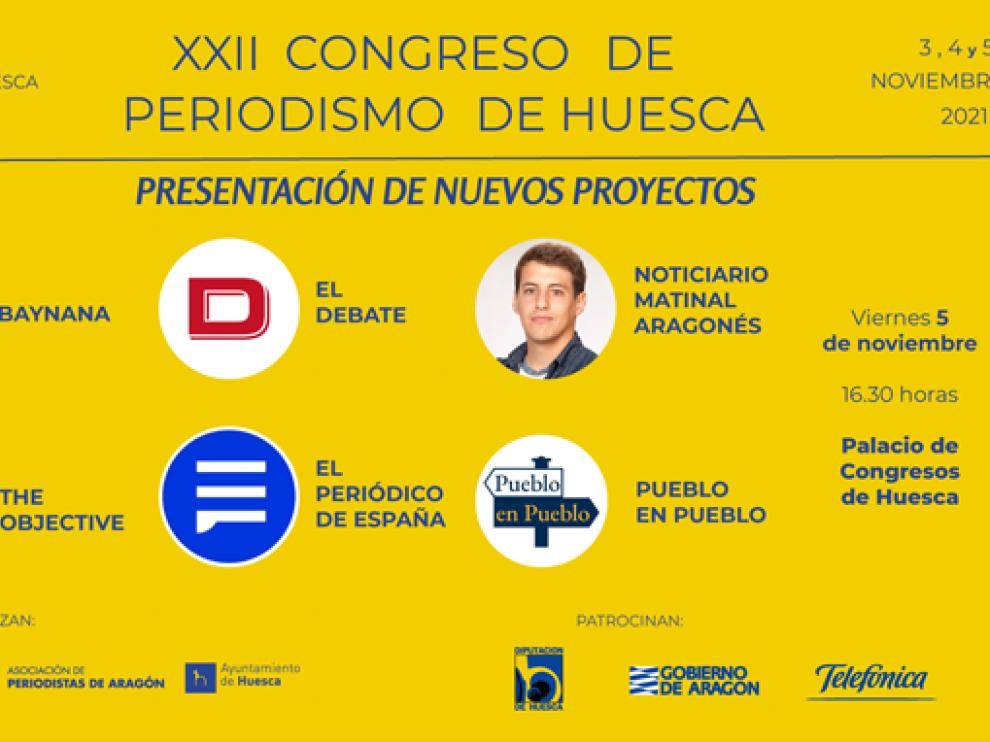 Nuevos proyectos en el Congreso de Periodismo de Huesca